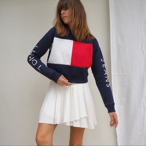 TOMMY JEANS FOR URBAN OUTFITTERS CROP SWEATSHIRT